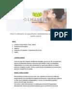Propuesta DEMASAJES Uruguay