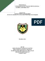 Proposal Permohonan Pemasangan Tiang Listrik Pln Bengkulu