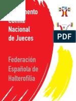 Reglamento Comite Nacional Jueces