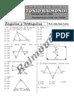 Ángulos y Triángulos
