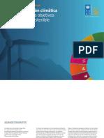 cción climática  para alcanzar los ODS .pdf