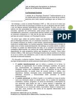 El Objeto de Estudio de La Psicología Evolutiva - Villar