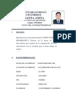 Cv Chuquimantari Jauregui Luis COMPUTACION
