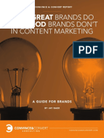 Convince Converts What Great Brands Do in Content Marketing eBook