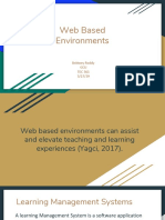 web based environments