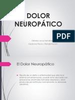 Dolor Neuropático -Dra. Leiva