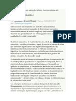 Elementos teóricos estructuralistas funcionalistas en sociologías de educación, socio II, cunori 2018