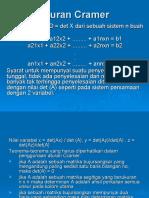 Aturan_Cramer