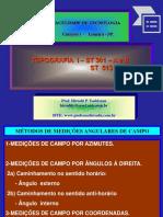 ROTEIRO DO CÁLCULO ANALÍTICO TOPOGRÁFICO.ppt