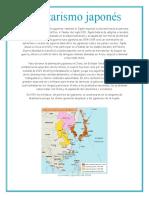 Militarismo japonés.docx