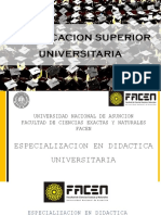 La Educacion Superior Universitaria 1