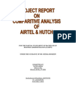 Airtel & Hutch Comparison