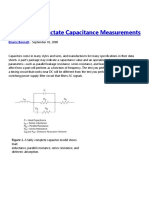 Applications Dictate Capacitance Measurements