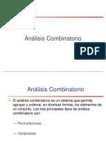 Clase Analisis Combinatorio