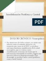 Sensibilización Periferica y Central