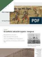 Unidad 6 Las Armas de la Guerra de Los Mil Días - Santiago Arteaga