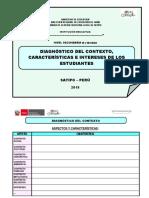 Diagnóstico Del Contexto Características e Intereses de Los Estudiantes