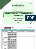 IDENTIFICACIÓN DE LAS NECESIDADES DE APRENDIZAJE SEGUNDO GRADO COMUNICACIÓN.docx