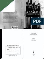 LOURAU, R. A analise institucional.pdf