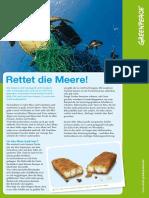 Greenpeace Kinderinfo - Rettet Die Meere