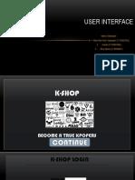 User Interface (Revi, Rika, Yuniar)