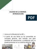 Presentacion Módulo III CALIDAD de LA ENERGÍA