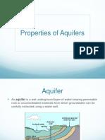 Aquifer Properties