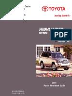 Manual Highlander Hybrid 2006 13 Pag.