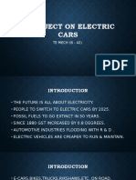 A Project on Electric Cars