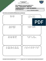 3º Medio - u2.2 – Ge - Multiplicacion y Division de Fracciones Al.