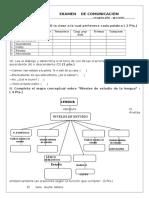 Examen - Gramatica - 2-4to-Secundaria