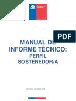 Manual de Informe Tecnico Perfil Sostenedor 2018