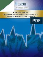 No user fee policy Jamaica