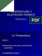 05 Temperatura y Dilatacion