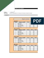 Practica N° 1 de Excel formatos
