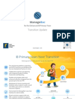 PYP Transition