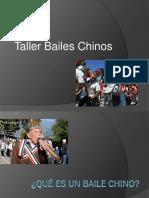 Taller bailes chinos