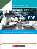 Programa Curricular de Educación Secundaria