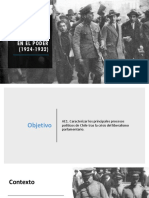 Los Militares en El Poder (1924-1932)