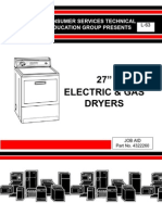 27 Gas Electric Dryers