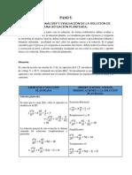 Ejercicio 5 - Análisis y Evaluación de La Solución de Una Situación Planteada