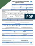 Formato de Solicitud de factibilidad ESSA