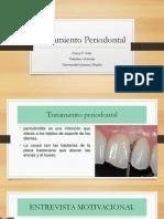 Tratamiento no quirúrgico tratamiento periodontal