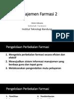 Manajemen Farmasi 2'15