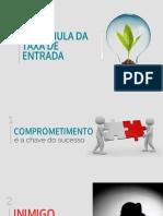 Taxa de Entrada - PDF