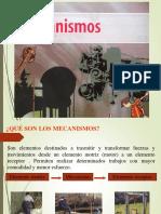 Clase 1 Clasificacion Mecanismos
