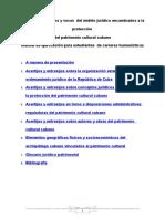 Manual de Proteccion Patrimonial Cubano