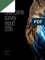 Cyber Crime Survey 2015