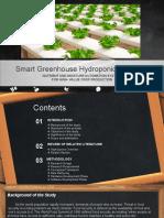 hydroponics proposal