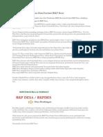 Sistematika RKP Desa Dan Format RKP Desa.docx